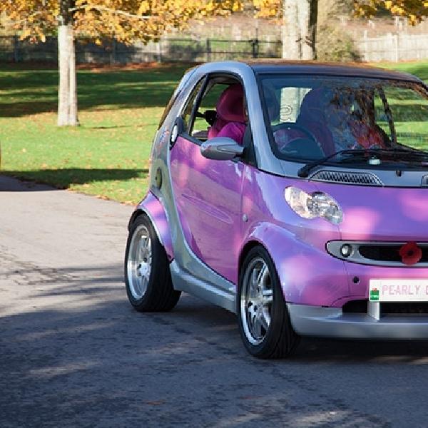 Reli Khusus Mobil Pink Akan Digelar di Inggris