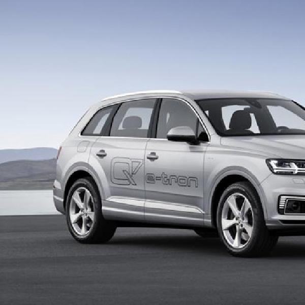 Audi Q7 e-tron Siap Ramaikan Pasar Asia
