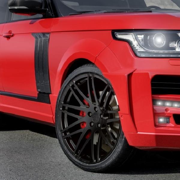 Startech Ubah Range Rover Jadi Pickup Kabin Ganda
