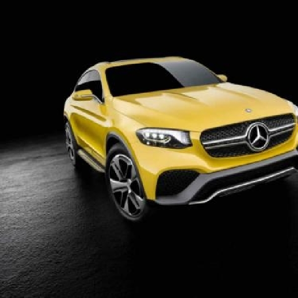 Mercedes-Benz Ungkap Konsep GLC Coupe