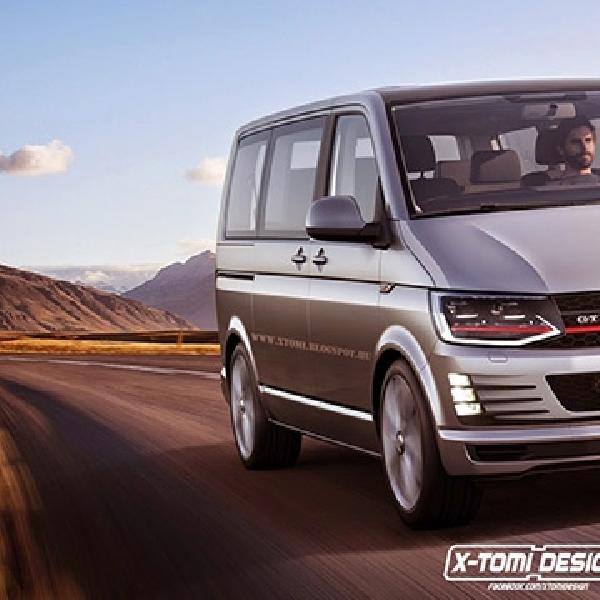 VW T6 Transporter GTI, Tampil Galak Ala X-Tomi Design