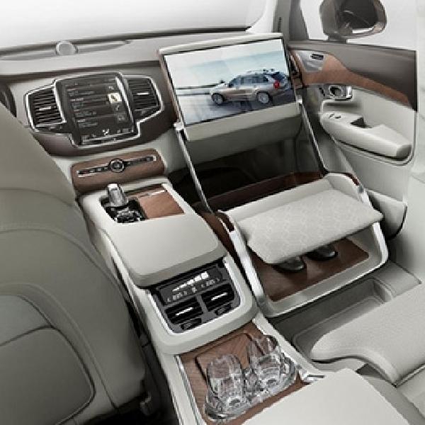 Konsep Interior Volvo XC90 Terlihat Mewah