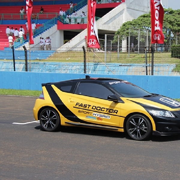 Honda CR-Z Kembali jadi Official Car IRS di 2015