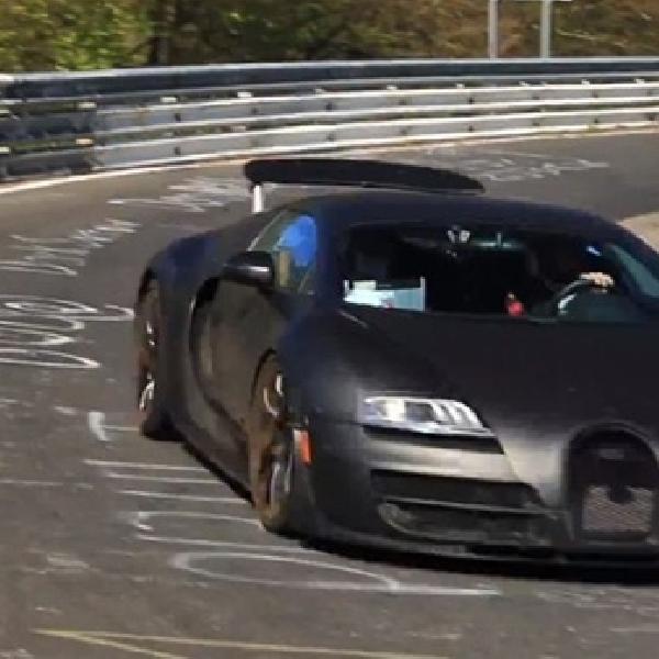 Bugatti Veyron Generasi Terbaru Mulai Diuji Coba ?