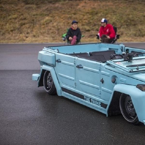 Modifikasi VW Safari, Stance Lebih Modis