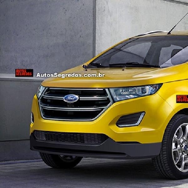 Seperti Inikah Facelift Ford EcoSport