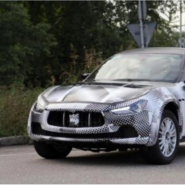 Maserati Kenalkan Lavente 2016