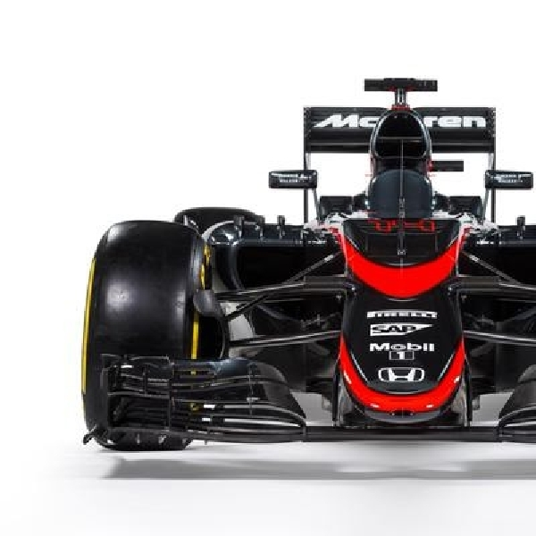 McLaren F1 Ganti Baju