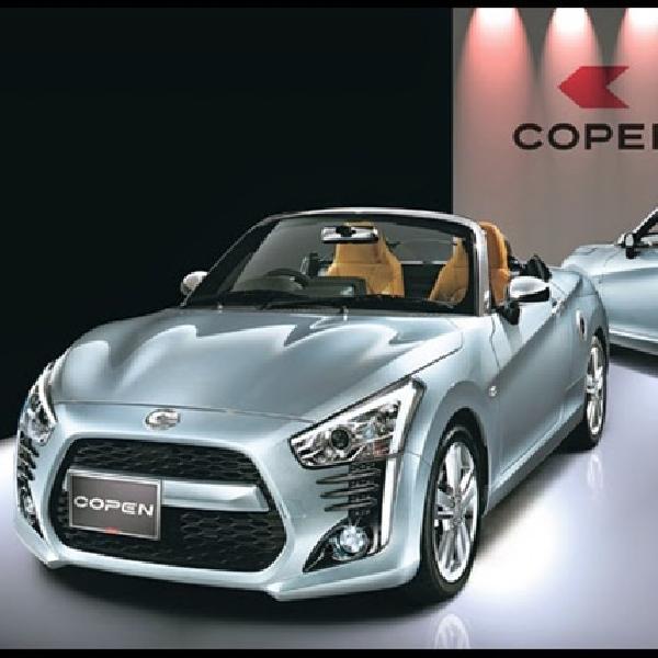 Bulan Juni 2015, Daihatsu Copen Sudah Mulai Dijual