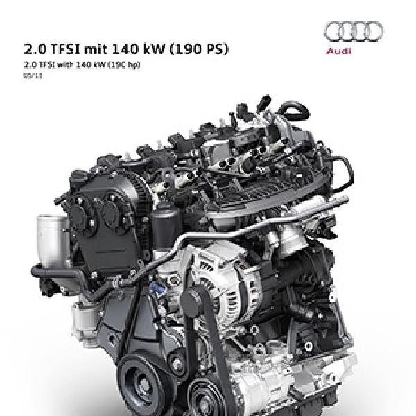 Mesin Baru Audi 2.0 TFSI Punya Konsumsi BBM 20 Km/L