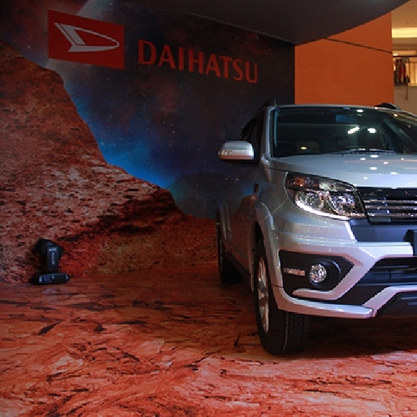 New Sirion dan New Terios Langsung Dongkrak Penjualan Daihatsu