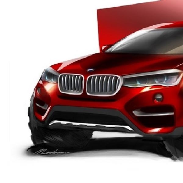 Ini Wujud Generasi Baru BMW X2