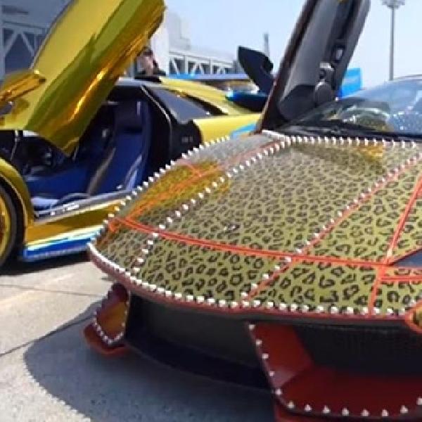 Modifikasi Lamborghini Murcielago, Ekstrim dengan Gaya Bosozoku