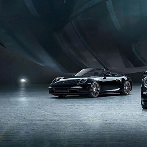 Porsche 911 Carrera dan Boxster Black Edition Tawarkan Serba Hitam