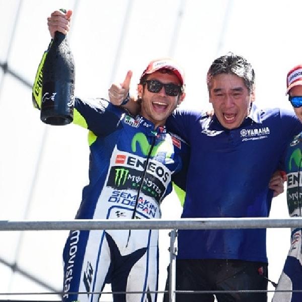 MotoGP: Rossi Ingin Bawa Yamaha Finish 1-2 di Mugello