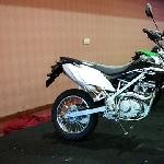 Kawasaki KLX 150 Tampil Perdana di Jakarta Fair