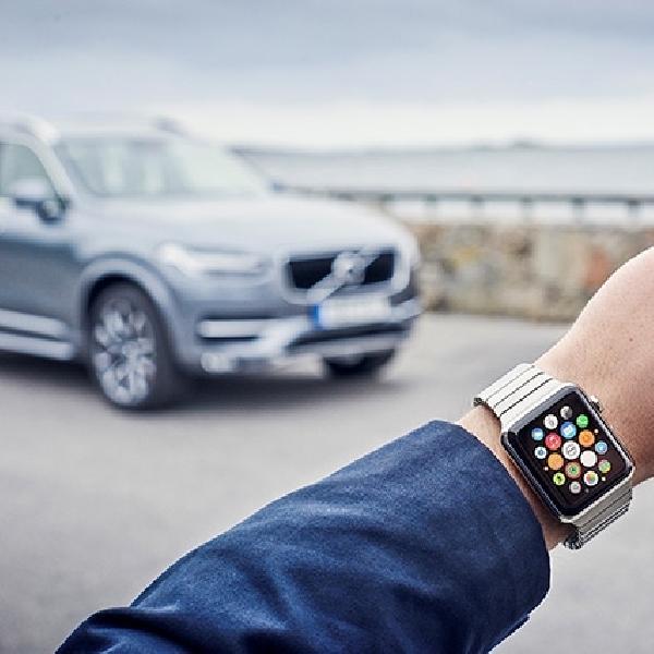 Akses Fitur Volvo Kini Bisa Lewat Smart Watch