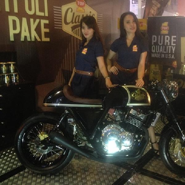 Cafe Racer Top 1 Mejeng di Jakarta Fair 2015