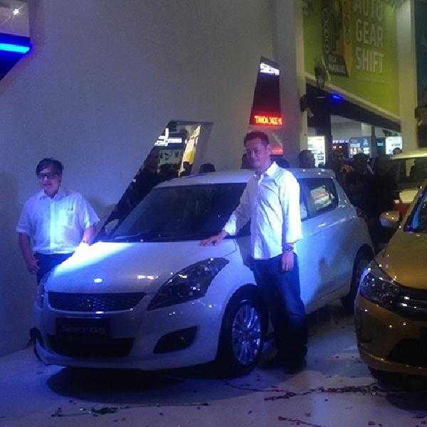 Suzuki Resmi Luncurkan All New Swift GS dan Celerio di Jakarta