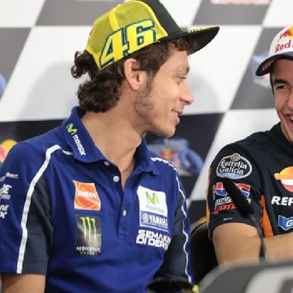MotoGP: Rossi Tidak Menyangka Marquez Seperti Ini