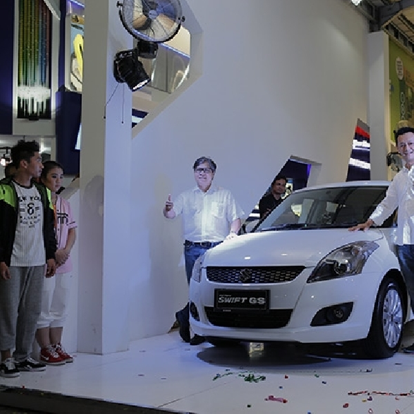 Suzuki ALL New Swift GS Tampil Lebih Agresif