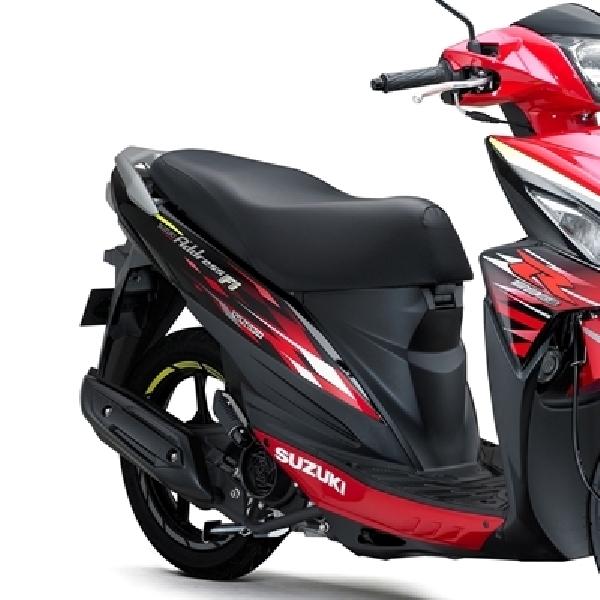 Suzuki Address R Series Lebih Sporty