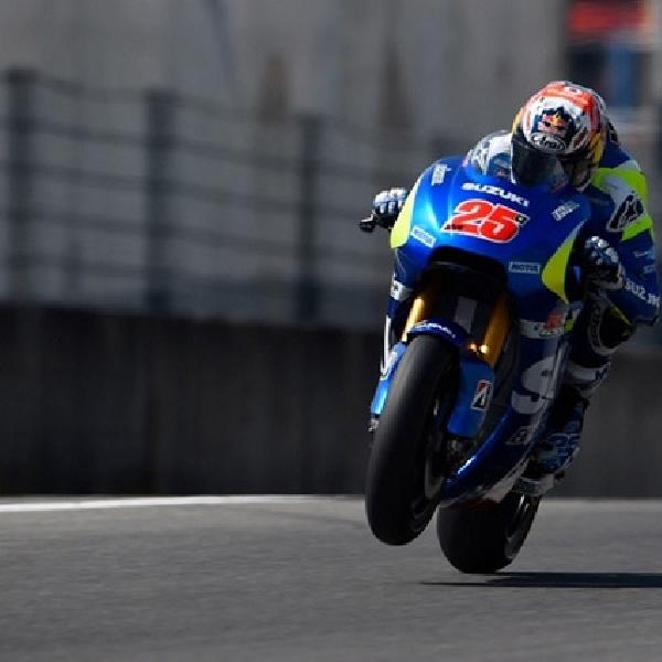 MotoGP: Suzuki Ecstar Pakai Mesin Baru di Catalunya
