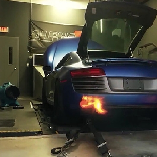 Modifikasi Audi R8, Tembus 1.300 Hp Berkat Twin Turbo
