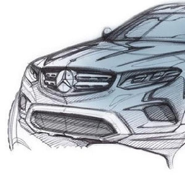 Mercedes-Benz Mulai Goda Teaser GLC Class 2016