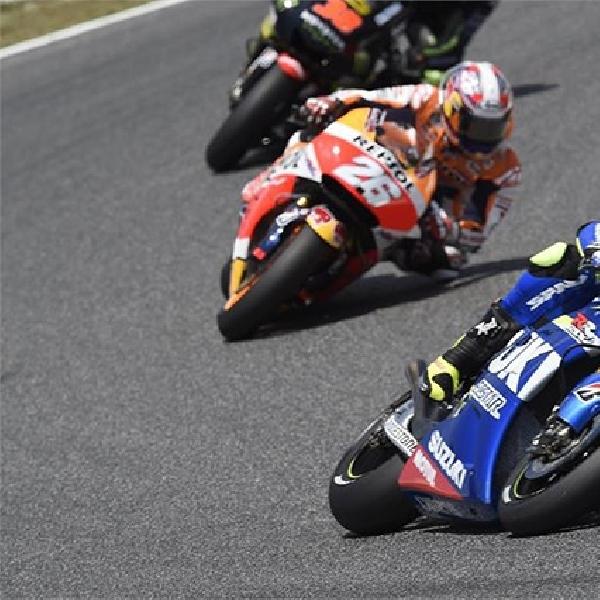 MotoGP: Suzuki Tuai Hasil Positif di Catalunya
