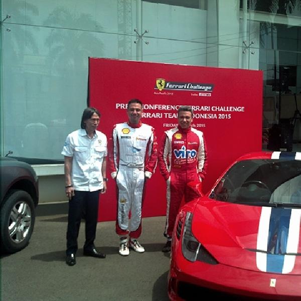Sentul Dicoret dari Jadwal Balap Ferrari Challenge Asia-Pacific