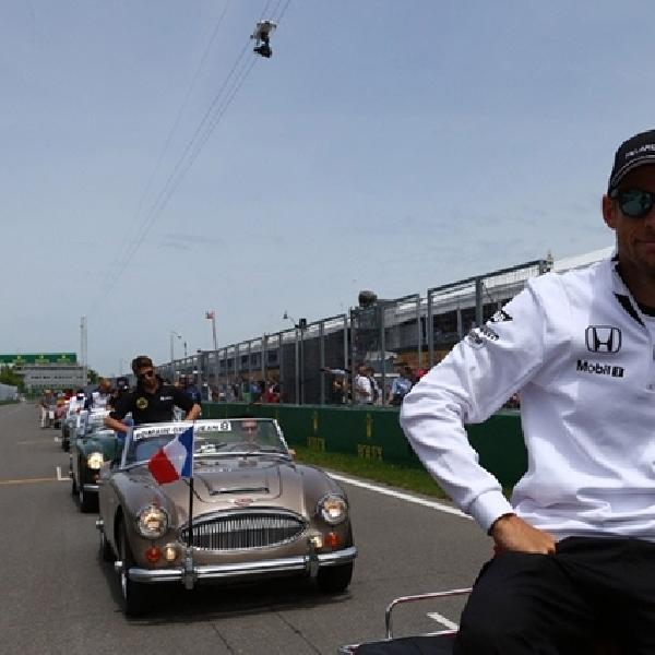 F1: Button Tantang Alonso Kalahkan Dirinya
