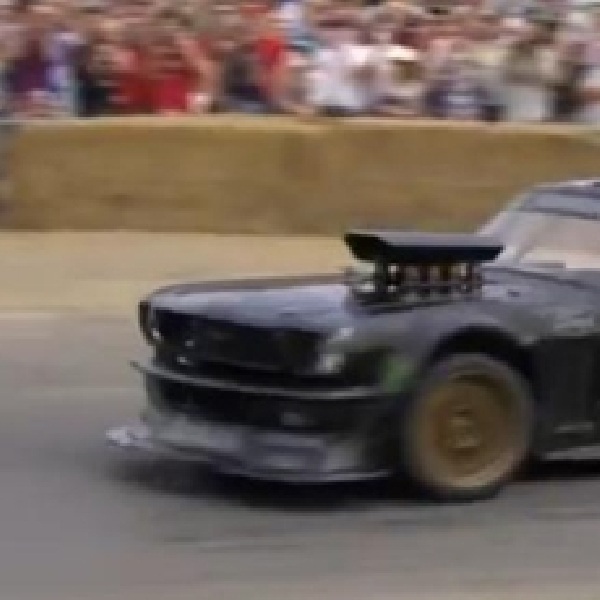 Ken Block Menandai Dibukanya Kategori Drifting di Goodwood Festival Of Speed