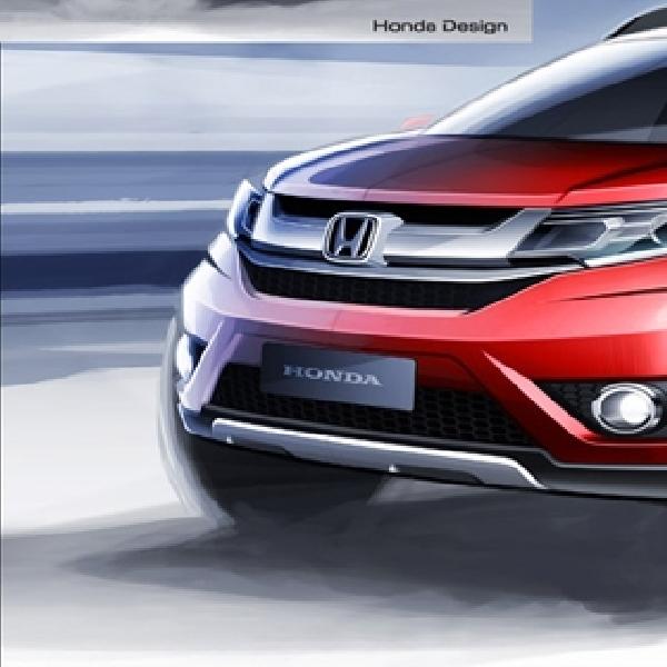 Honda Akan Kenalkan BR-V Prototype di GIIAS 2015