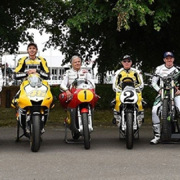 MotoGP: Mengintip Aksi Rossi di Goodwood Festival of Speed