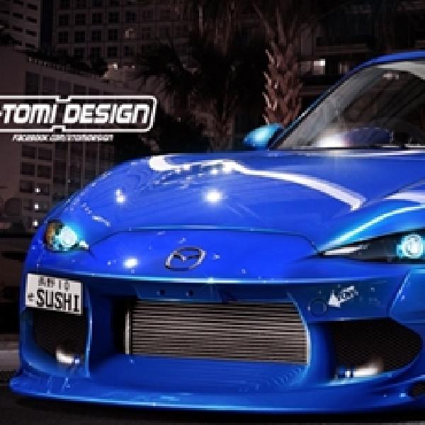 Modifikasi Mazda-MX-5 Hellaflush Karya X-Tomi Design