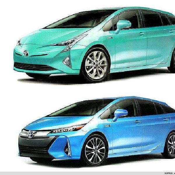 Toyota Prius Baru Mulai Terkuak