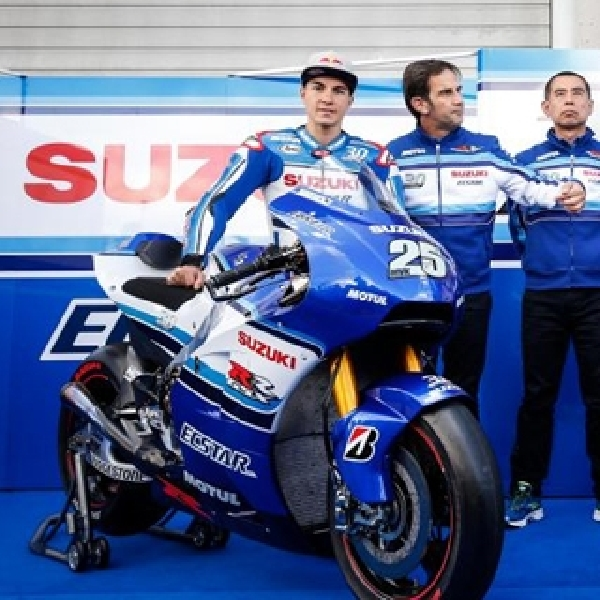 MotoGP: Seragam Baru Suzuki Ecstar Resmi Diperkenalkan