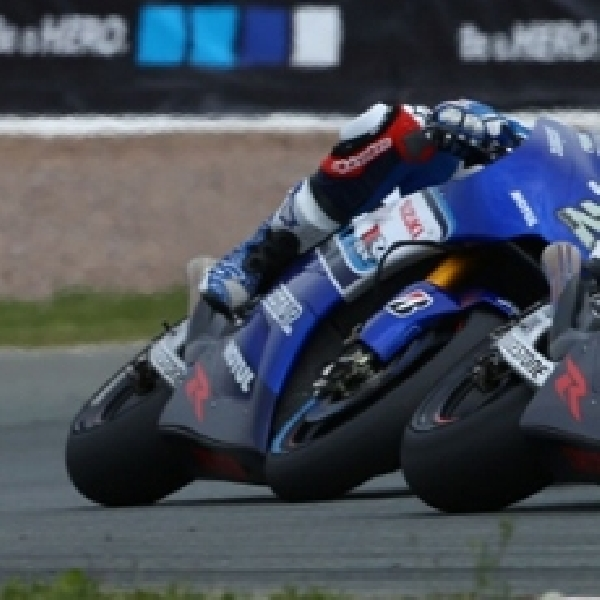 MotoGP: Suzuki Berjuang di Sachsenring Tanpa Seamless Girboks