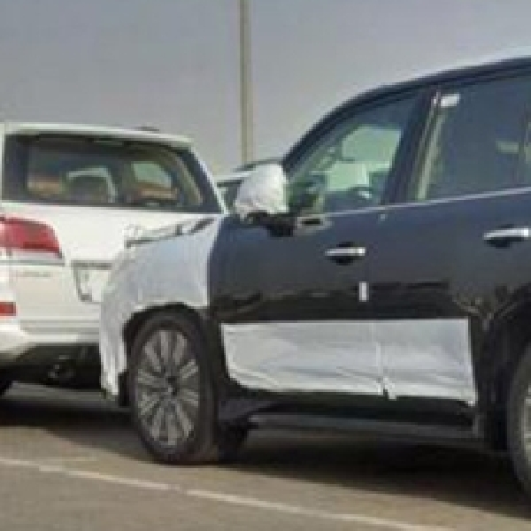 Mengintip Interior Lexus LX570 Facelift