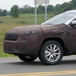 Jeep Cherokee Facelift Mulai Tampakan Diri