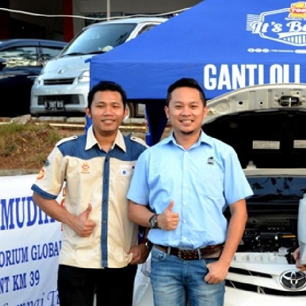 Ganti Oli dan Kuras Radiator Gratis di KM 39