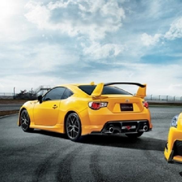 Toyota 86 Yellow Limited Terbatas Cuma di Jepang