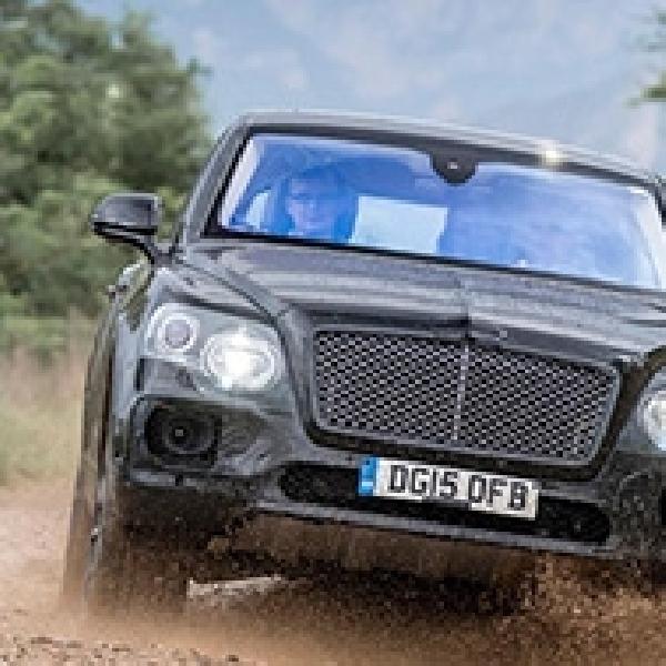 Bentley Bentayga Mulai Unjuk Kekuatan Melalui Video