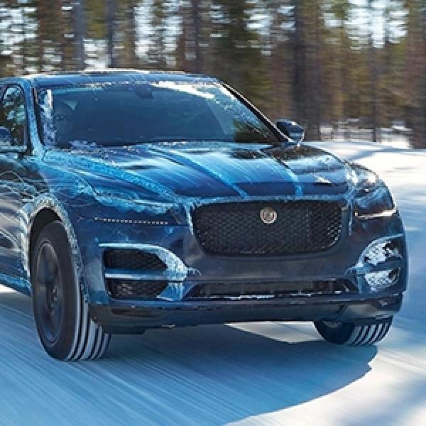 Jaguar Crossover F-Pace - Test Akhir Sebelum Kemunculannya
