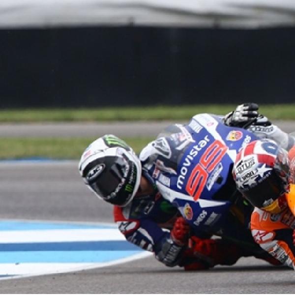 MotoGP: Marquez Kaget Dapat Perlawanan Sengit dari Lorenzo