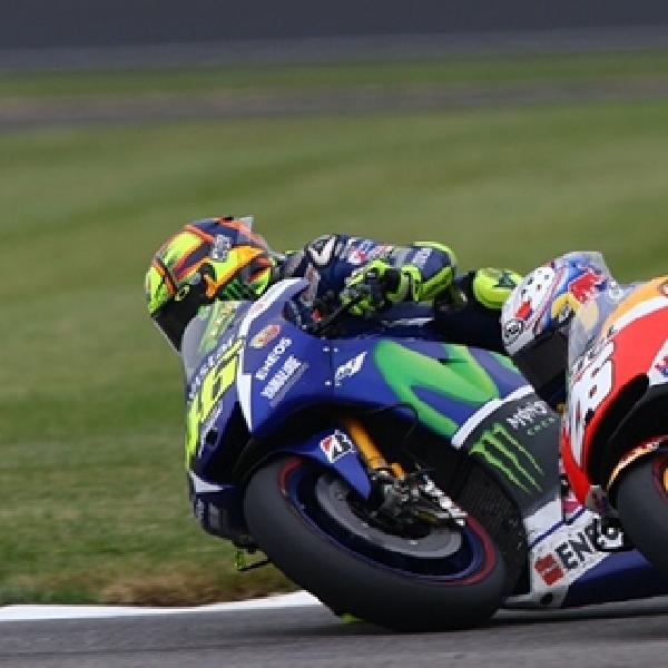 MotoGP: Ini Cara Rossi Kalahkan Pedrosa