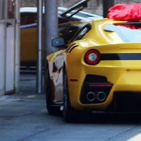 New Ferrari F12 Versione Speciale Tertangkap Kamera