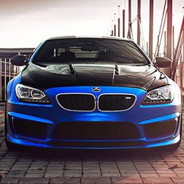 Modifikasi BMW M6 Coupe - Kroom Biru Hasil Karya Kolaborasi Hamann Dan Fostla.de