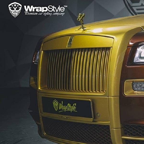 Modifikasi Rolls-Royce Ghost Berlapis Emas